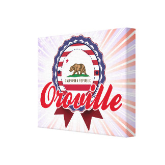 Oroville, CA Lona Envuelta Para Galerias