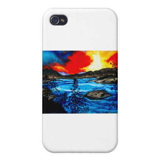 Oroville Colors iPhone 4 Cover