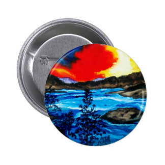 Oroville Colors Pinback Button