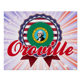 Oroville, WA Posters