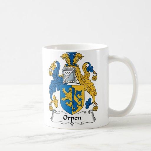 Orpen Family Crest Coffee Mug