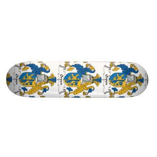Orpen Family Crest Custom Skate Board