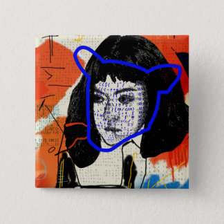 Orphan Black | Abstract MK Clone - Project Leda Pinback Button