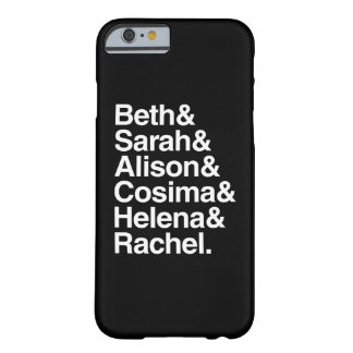 Orphan Black | Helvetica Design Barely There iPhone 6 Case