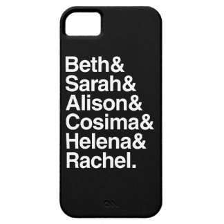Orphan Black | Helvetica Design iPhone SE/5/5s Case