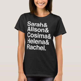 Orphan Black | Helvetica Design T-Shirt