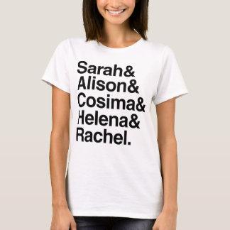 Orphan Black   Helvetica Design T-Shirt