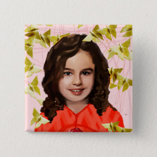 Orphan Black | Kira - Girly Origami  Pinback Button