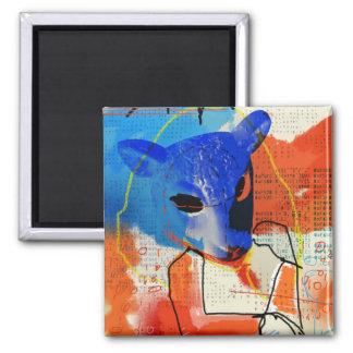 Orphan Black | MK - Sheep Mask Silhouette Magnet