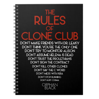 Orphan Black | The Rules of Clone Club Notebook