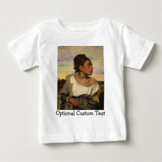 Orphan Girl at the Cemetery Baby T-Shirt