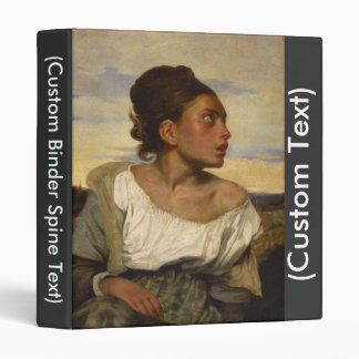 Orphan Girl at the Cemetery Binder