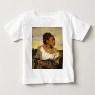 Orphan Girl at the Cemetery by Eugene Delacroix Baby T-Shirt