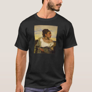 Orphan Girl at the Cemetery by Eugene Delacroix T-Shirt
