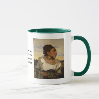 Orphan Girl at the Cemetery Mug