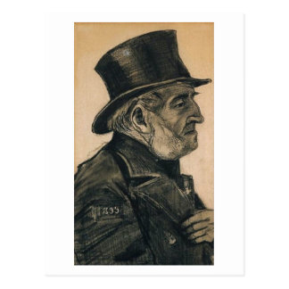 Orphan Man with Top Hat, Vincent van Gogh Postcard