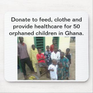 Orphaned Children in Ghana Mousepad
