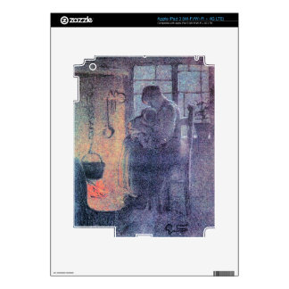 Orphans by Giovanni Segantini Decals For iPad 3