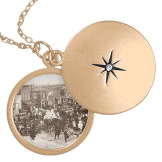 Orphan's Necklace Antique Logging Congress Party