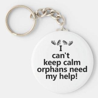 Orphans need my help key chain