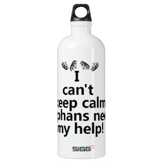 Orphans need my help water bottle
