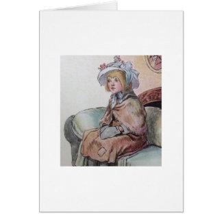 Orphant Annie (Orphan Annie) Greeting Card
