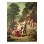 Orpheus and Eurydice, Spring Postcard