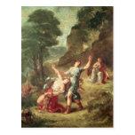 Orpheus and Eurydice, Spring Postcard