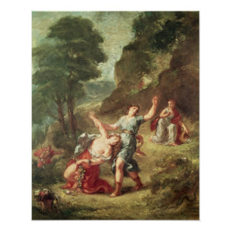 Orpheus and Eurydice, Spring Poster