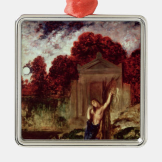 Orpheus at the Tomb of Eurydice Metal Ornament