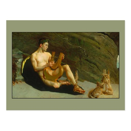 Orpheus by George deForest Brush Post Cards