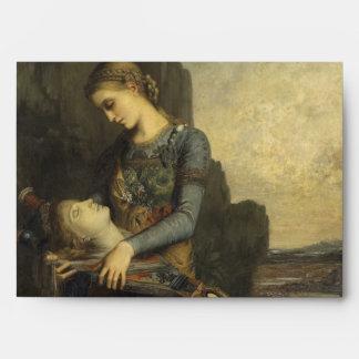 Orpheus by Gustave Moreau Envelope
