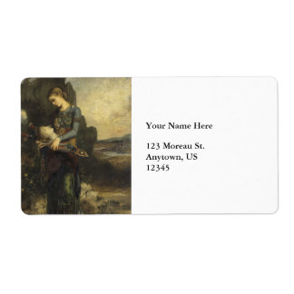 Orpheus by Gustave Moreau Label