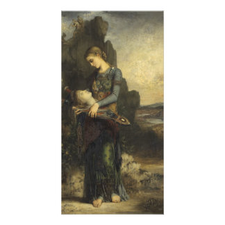 Orpheus by Gustave Moreau Personalized Photo Card
