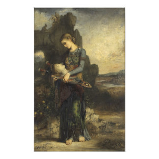 Orpheus by Gustave Moreau Art Photo