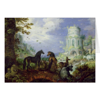 Orpheus Charming the Animals, 1626 Cards