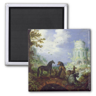 Orpheus Charming the Animals, 1626 Magnet