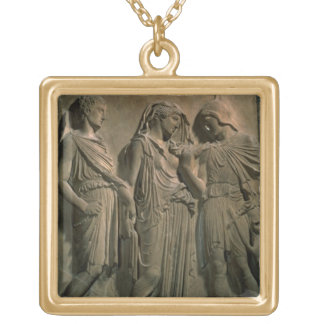 Orpheus, Eurydice and Hermes (marble) Necklaces