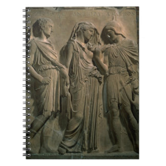 Orpheus, Eurydice and Hermes (marble) Notebooks