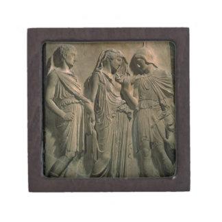 Orpheus Eurydice and Hermes marble Premium Jewelry Box