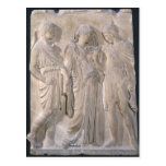 Orpheus, Eurydice and Hermes Post Card