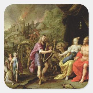 Orpheus in the Underworld Square Sticker