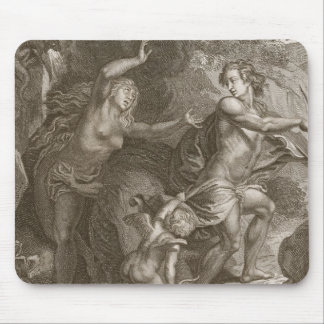 Orpheus, Leading Eurydice Out of Hell, Looks Back Mouse Pad