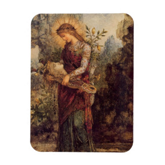 Orpheus music god rectangular photo magnet