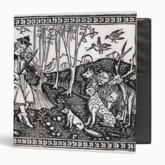 Orpheus Playing to the Animals, 1500 Binder