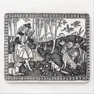 Orpheus Playing to the Animals, 1500 Mouse Pad