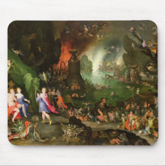 Orpheus with a Harp Playing to Pluto Mouse Pad