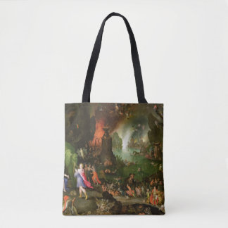 Orpheus with a Harp Playing to Pluto Tote Bag