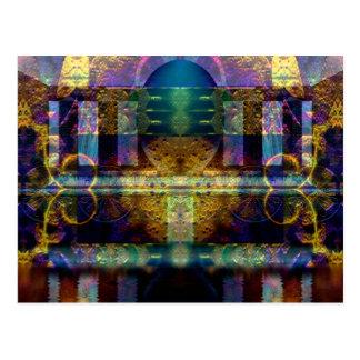 """Orphic Shrine"" Fine art Postcard"