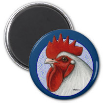 Orpington Head Circle Magnet